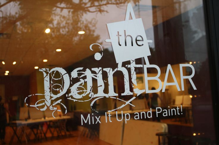17 best images about paint bar decor on pinterest a for Paint bar newton