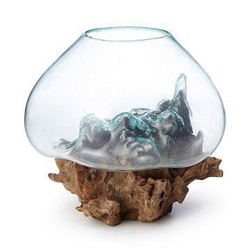 Molten Sculptural Bowl
