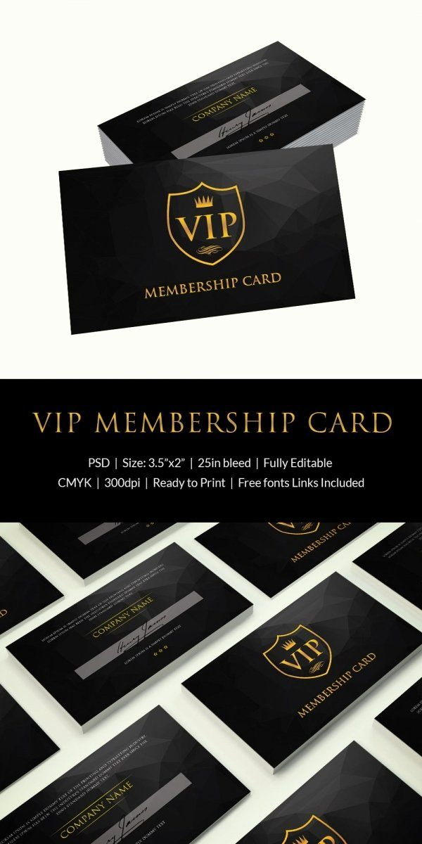 Free Membership Card Template Best Of 35 Membership Card Designs Templates Membership Card Gym Membership Card Create Business Cards