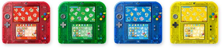 Nintendo 2DS in Pokemon Red, Blue, Green, or Yellow