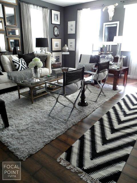 Best 25+ Black white curtains ideas on Pinterest | Stripe curtains ...