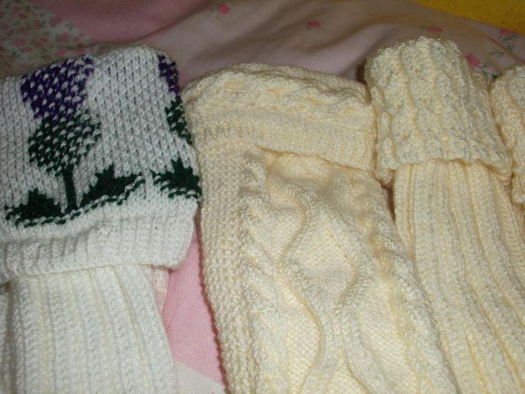 Kilt Socks - Knitting creation by mobilecrafts | Knit.Community