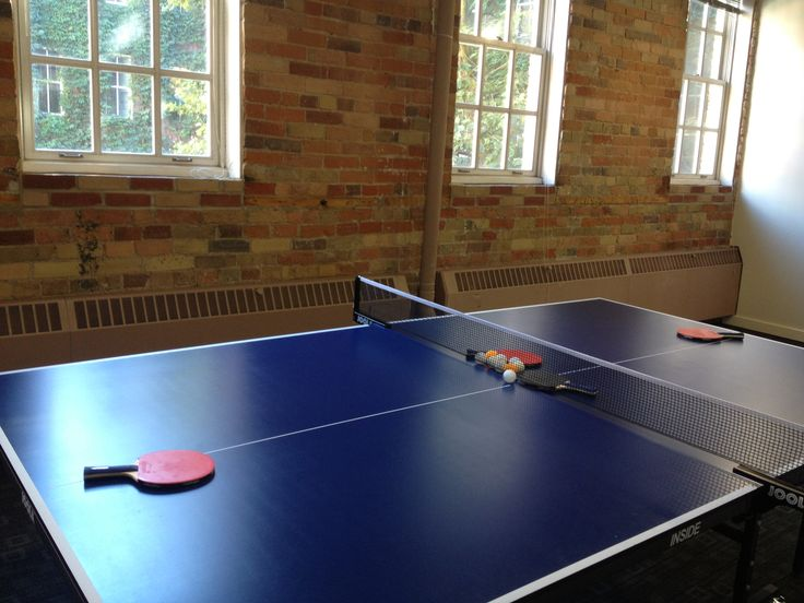 Table Tennis at the GroupBy office