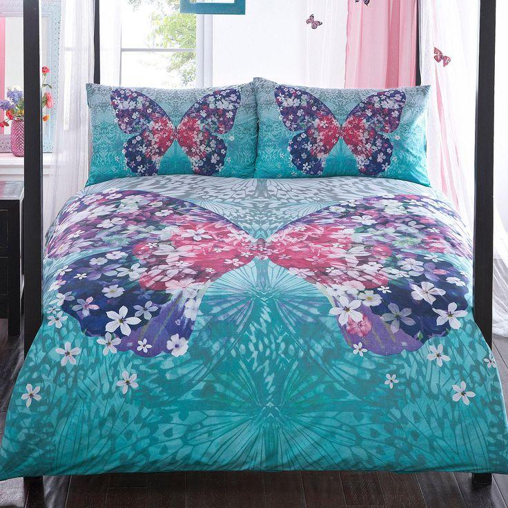 Matthew Williamson's Butterfly Home Multicoloured 'Wings' bedding set - Debenhams.com