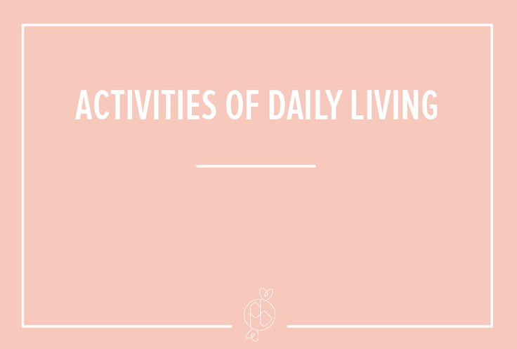 activity of daily living What are instrumental activities of daily living there are two groups of daily living activities: activities of daily living and instrumental activities of daily living the activities of daily living are basic, routine tasks, such as bathing, dressing, eating and using the toilet, that most people are able to perform on a daily basis without assistance.