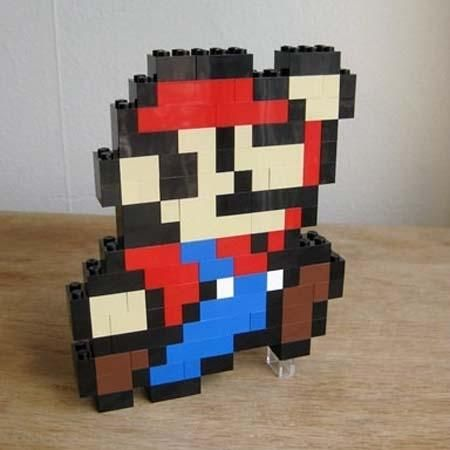 LEGO and Mario! Two of my favorite things.