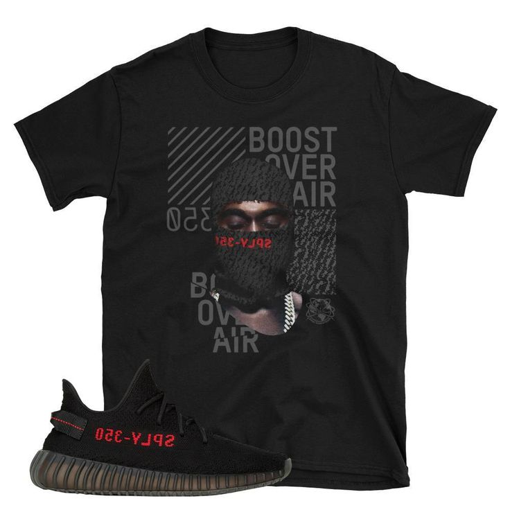 Yeezy Boost 350 Core Red Mask T-Shirt