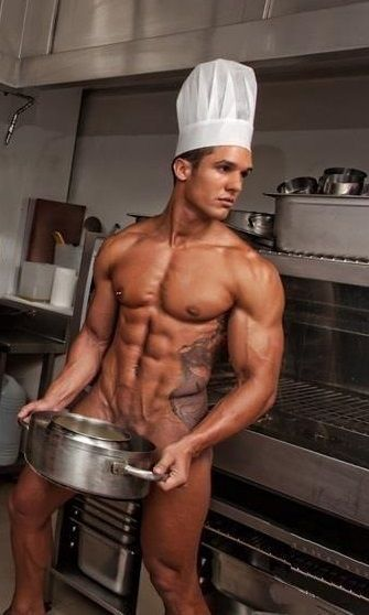 Naked Men In The Kitchen