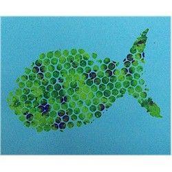 Bubble Wrap Fish Craft