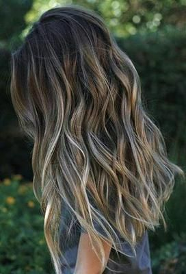 Mechas californianas en rubio