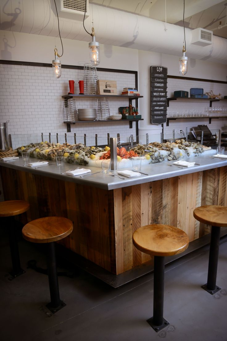Best oyster bar ideas on pinterest
