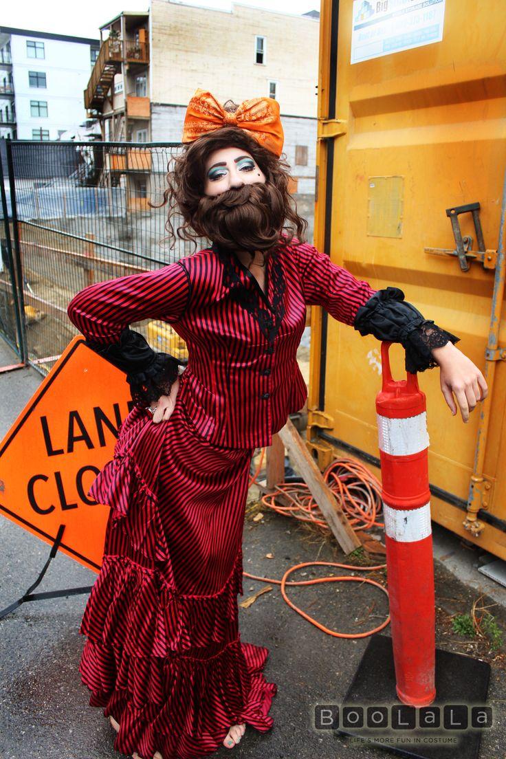 The 25 best bearded lady costume ideas on pinterest for Tattoo freak costume