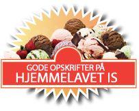 Gode Is Opskrifter is med marcipan og chokolade