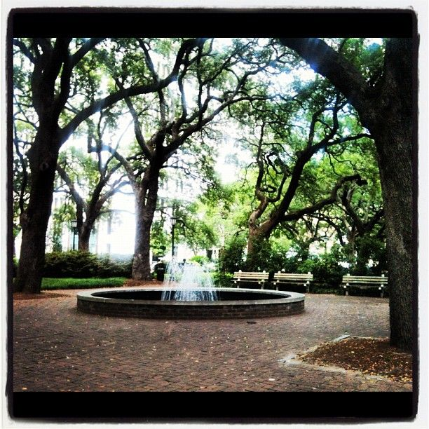 1000+ Images About Savannah Squares And Parks On Pinterest