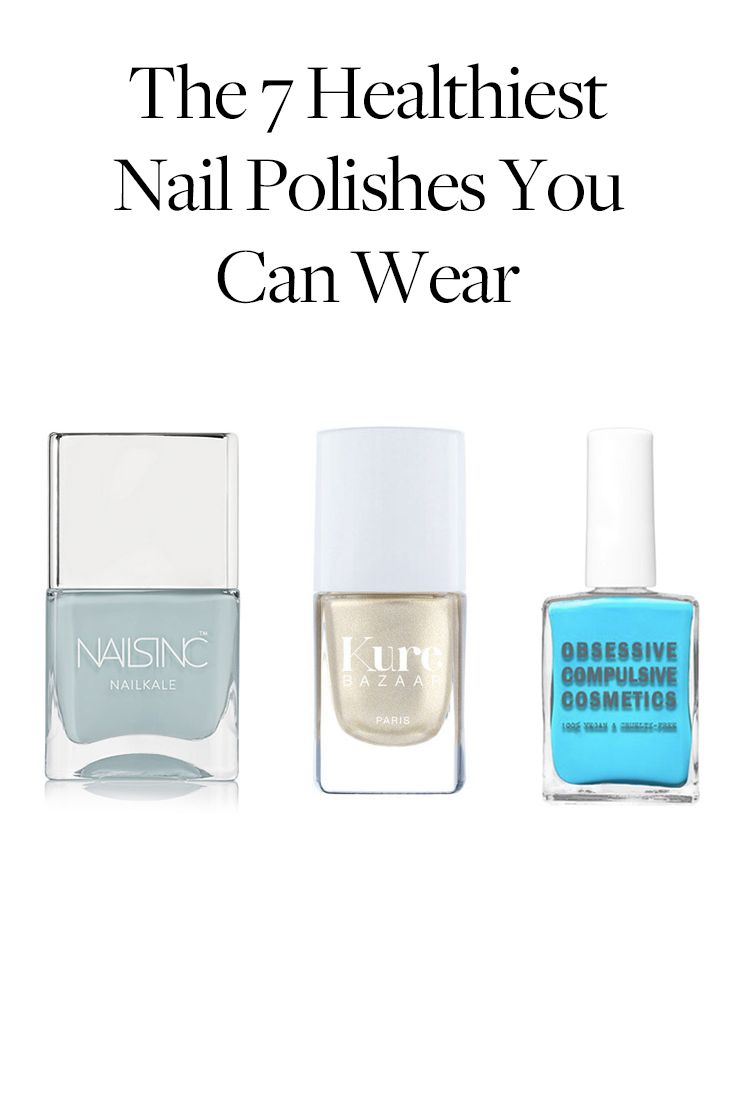 These nail polishes are actually good for you.