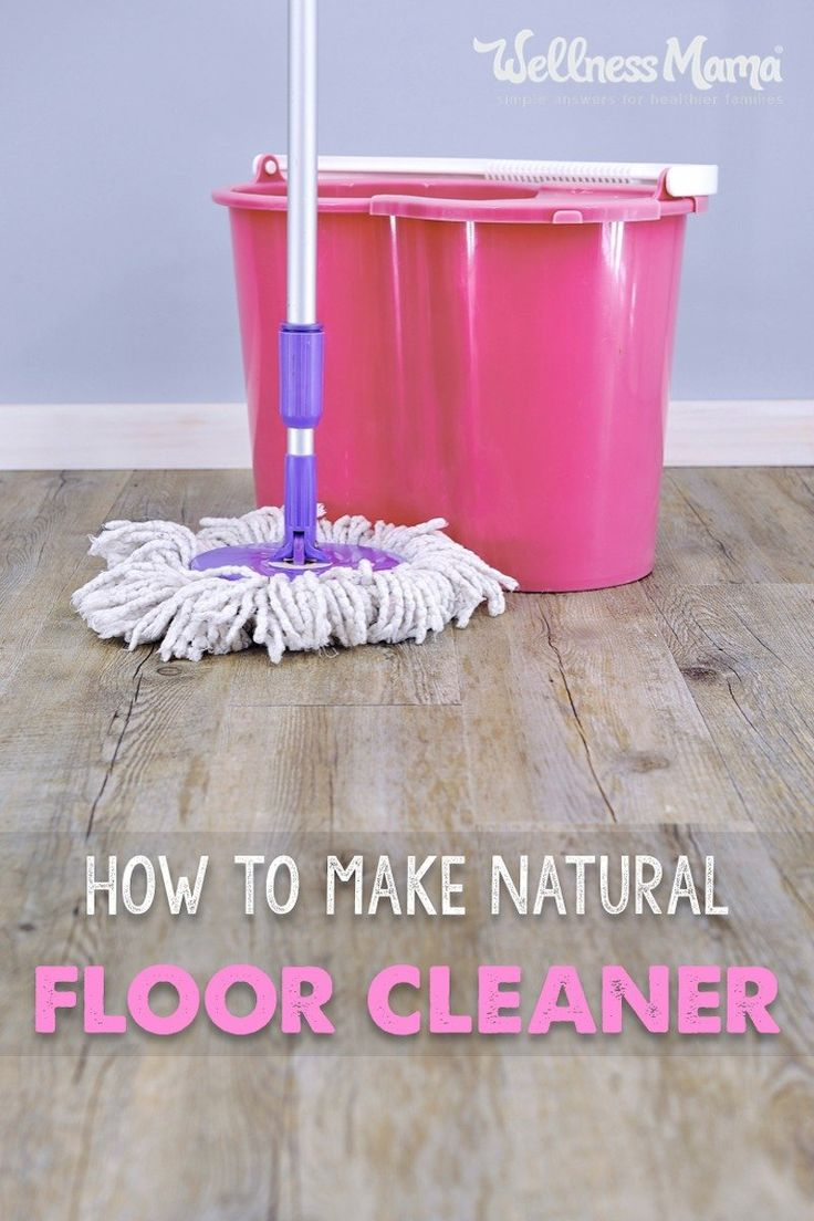 Clean your floors naturally with these homemade floor cleaner recipes. They are effective and inexpensive and safe for use around children.