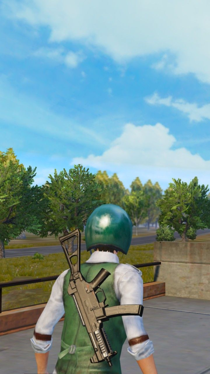Pubg Mobile Wallpaper Green Ump Pubgm