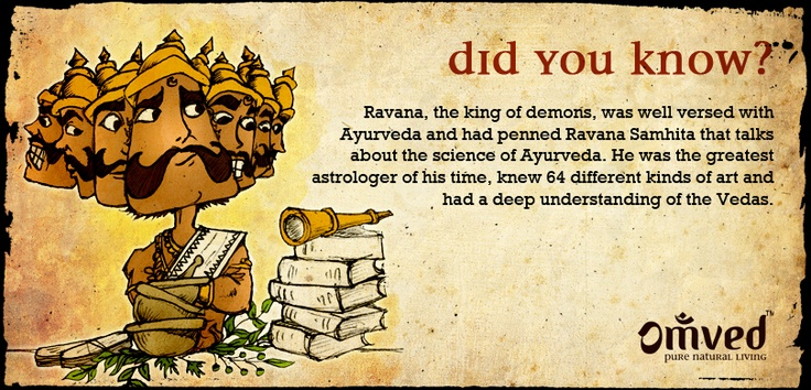 Diwali celebrations are synonymous with lights, sweets and the celebrations when Lord Rama came home. Here's a small something we found in the Ramayana, just for your reading pleasure! Do you have some great facts for us too? Hit like if you found this as interesting as we did!