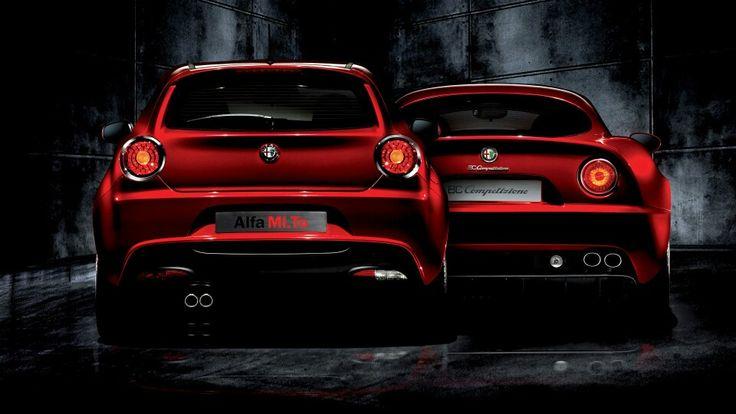 Alfa Romeo Mito and 8C