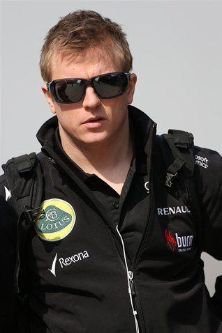 Kimi Raikkonen Lotus F1 Team