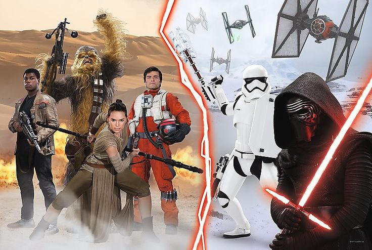 Puzzle TREFL  260 dílků - Star Wars: Síla se probouzí