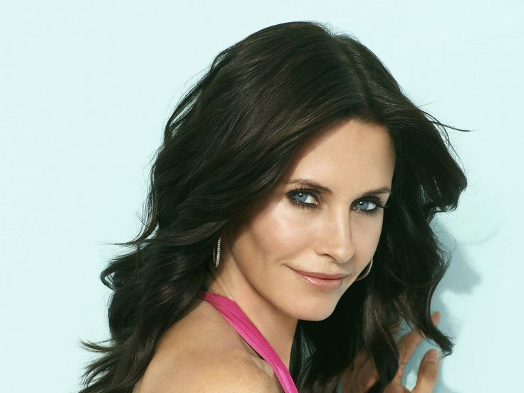 "Courteney Cox... definite style icon for ""Clear"""