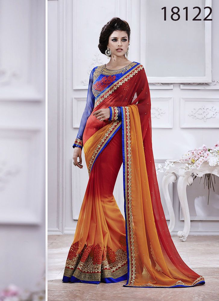 Bollywood-Pakistani-Women-Ethnic-Designer-Party-Saree-Wear-Lehenga-Indian-Sari