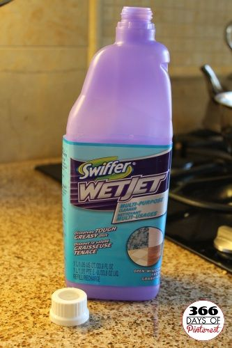 I am so excited!!!!! How to refill the Swiffer WetJet bottle. Found a wonderful floor cleaning solution here too, now I can use BOTH!!!