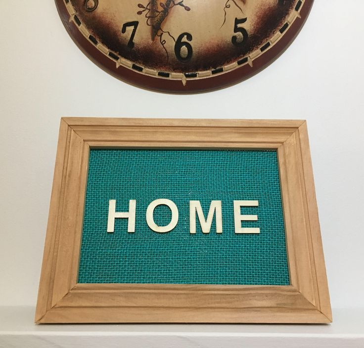 Handmade Frame Display - Home - Letter Art - Rustic Rugged Home Decor - Newfoundland & Labrador - SALTY AIR INSPIRATIONS by SaltyAirInspirations on Etsy https://www.etsy.com/ca/listing/557394425/handmade-frame-display-home-letter-art