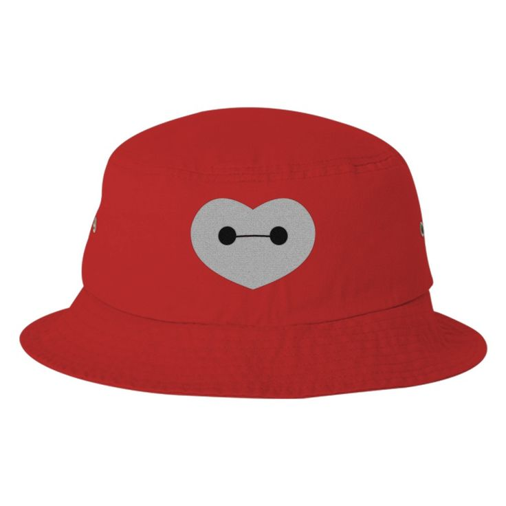 d2386074034 Big Hero 6 - Baymax Shaped Heart Bucket Hat