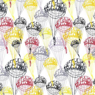 print & pattern: DESIGNER - clare vickery  parachute print