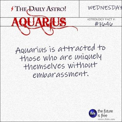Aquarius 7646: Check out The Daily Astro for facts about Aquarius.