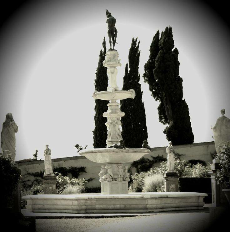 Fontana Fortezza di Castello - Firenze