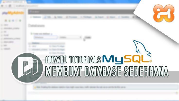 #3 Project Masunduh2 - Cara Membuat Database Mysql Sederhana di PhpMyadmin (XAMPP).