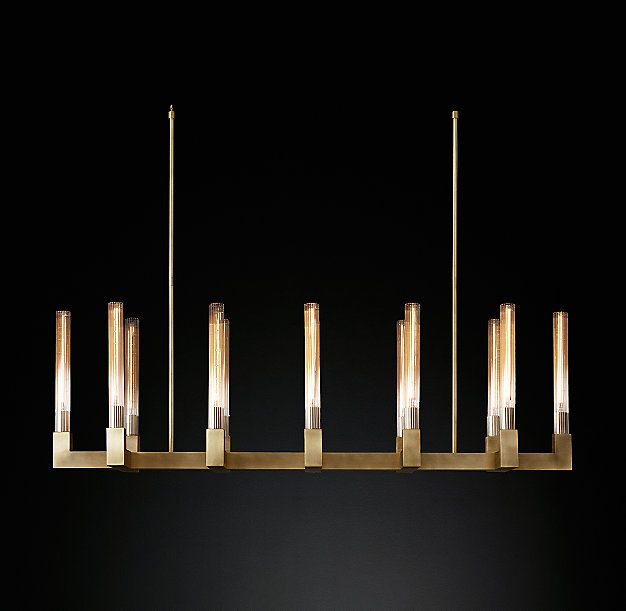 Cannele Linear Chandelier 54""