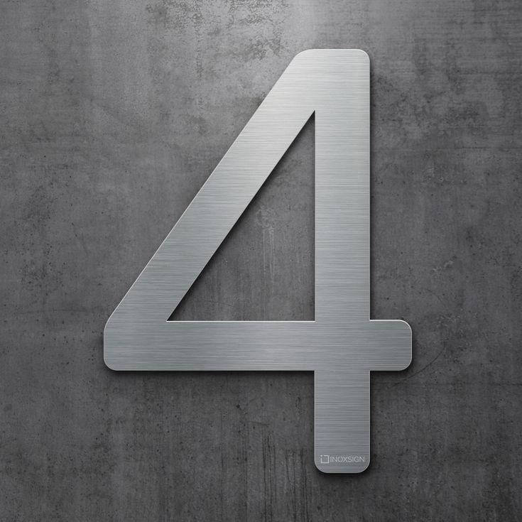 22 best inoxsign hausnummern edelstahl design hausnummer