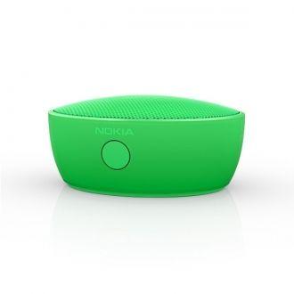 Wygoda bez kabli Głośnik Nokia MD-12 obsługuje łączność Bluetooth oraz NFC. Natomiast bateria o długiej żywotności zainstalowana w urządzeniu wystarczy na słuchanie muzyki nawet przez całą noc.  Telekonferencje gdziekolwiek jesteś Brak ograniczeń - dzięki wbudowanemu w głośnik mikrofonowi możesz prowadzić telekonferencje praktycznie wszędzie.
