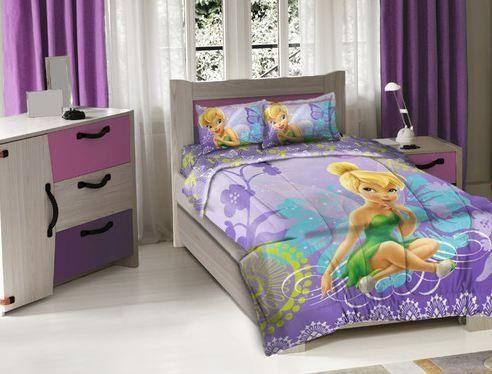 132 best tinkerbell bedroom images on pinterest for Disney fairies bedroom ideas