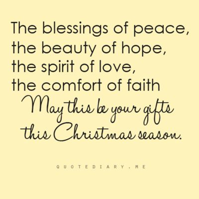 Image result for christmas blessings quotes