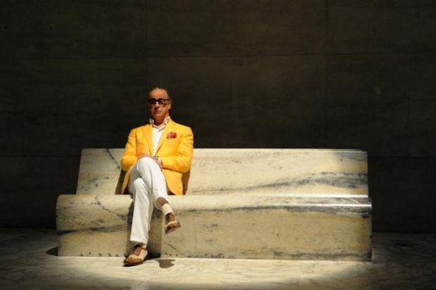 Cesare Attolini's suits in La Grande Bellezza