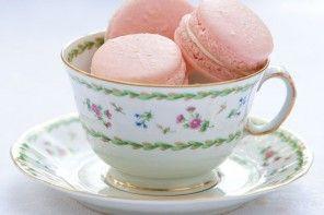 Strawberries and Cream French Macarons Recipe