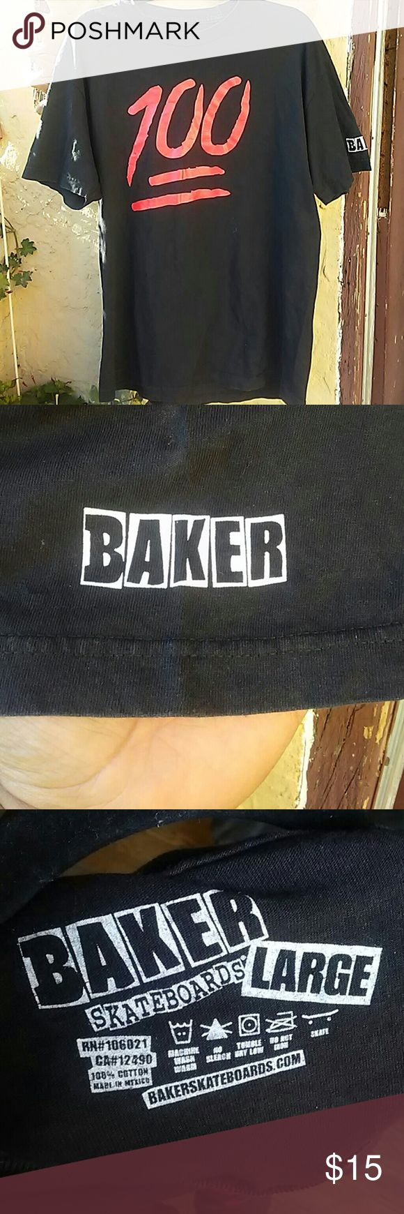Baker Skateboard T-shirt In good conditions.. Baker Shirts Tees - Short Sleeve