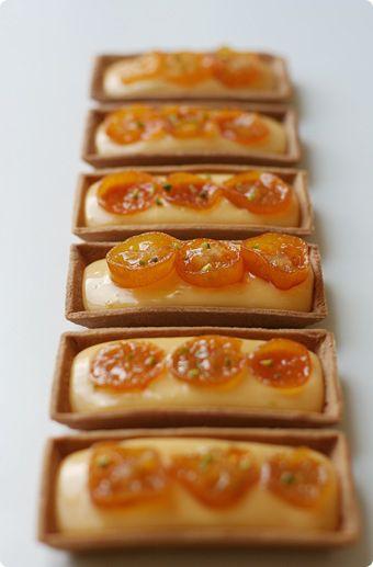 Kumquat tarts - just got a little patio kumquat tree so I'm very glad to find kumquat recipes!