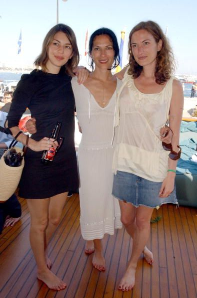 Sofia Coppola, Xan Cassavetes and Zoe Cassavetes at Cannes Film Festival 2004 | Photo Credit  Denise Truscello/ WireImage.