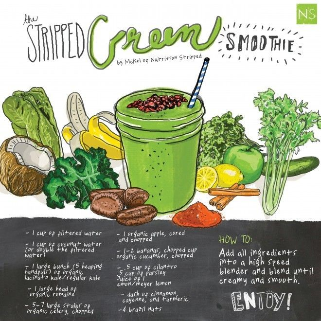 The Stripped Green Smoothie | PUT DOWN THE CUPCAKE YOU FAT PIECE OF S ...