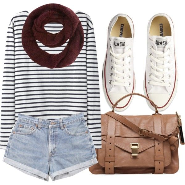 A fashion look from March 2013 featuring Wood Wood t-shirts, Levi's shorts and Converse sneakers. Browse and shop related looks.