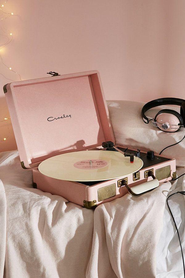 Crosley Cruiser Pink UK Plug Record Player............................................................Please save this pin... ........................................................... Visit!.. http://www.ebay.com/usr/prestige_online