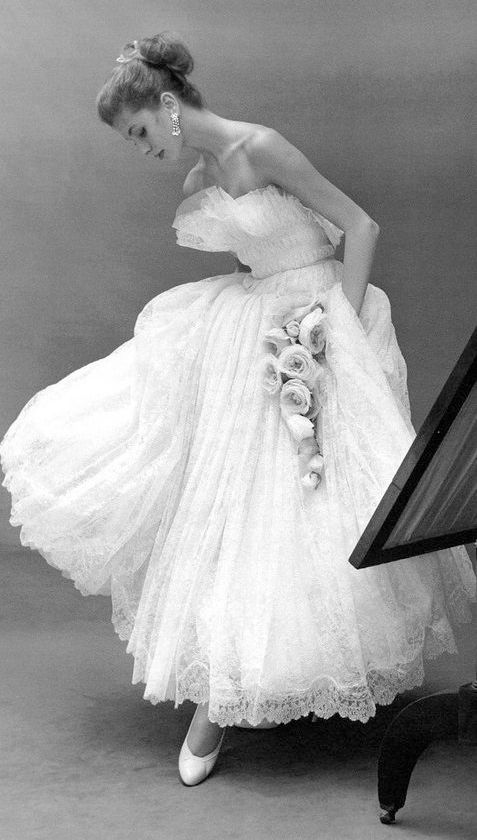 ♔ Dior 1950's