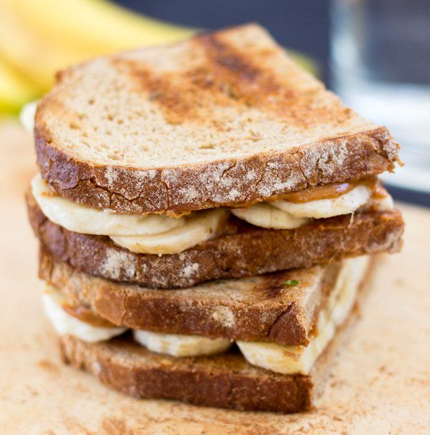 Anti Hangover Peanut Butter Banana Sandwich