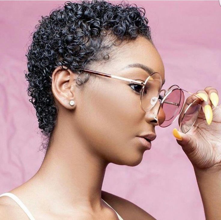 Twa Hairstyles 118 Best Twa Baddies Images On Pinterest  Natural Hair Short